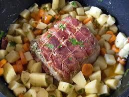 recette de cuisine roti de veau rôti de veau façon paysanne recette rôti de veau veaux et rôti