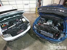 Ford Raptor Competitor - procharger u0027s 6 2l battle ford raptor vs gmc sierra boosted
