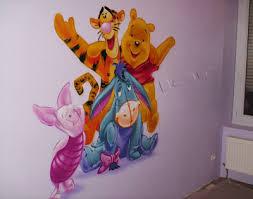 d oration chambre winnie l ourson kevgraph décoration intérieur graffiti décoration chambre enfant