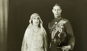 looking back at the wedding of king george vi and queen elizabeth