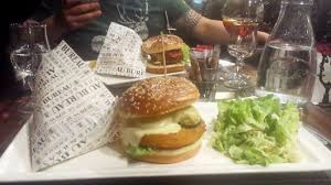bureau martigues spicy burger veg burger picture of au bureau martigues
