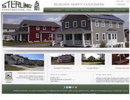 best home builder website design about sterling homes awards