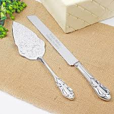 wedding cake serving set embossed cake server set wedding collectibles