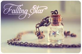 glass bottle necklace pendant images Swarovski star tiny glass bottle necklace with glitter stars jpg