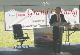 lexus of nashville employment jtekt opens doors on new plant 100 new jobs news