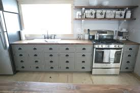 Kitchen Cabinets Open Shelving Ana White Open Shelves For Our Cabin Kitchen Diy Projects