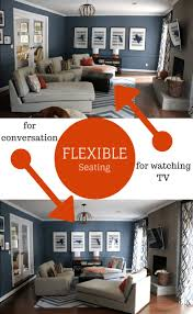 family room design flexible seating options