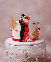 anniversary cake 1st anniversary cake in ri cake by prachi dhabaldeb cakesdecor