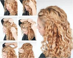 Frisuren Lange Haare Locken Zum Nachmachen by 40 Frisuren Für Naturlocken Zum Selbermachen Mit Anleitung