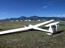Metropolitan Glider And Ottoman Boulder Glider Crash Photo Keywords Airplane Crash Metro