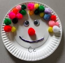 the activity mom paper plate craft c is for clown