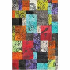 Patchwork Area Rug Madisons Colorful Patchwork Cowhide Area Rug Posh Rug