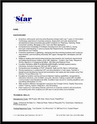 Core Skills Resume It Business Analyst Resume Resume Template Catchy For Business