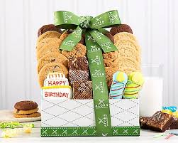 happy birthday gift baskets say happy birthday with a basket post