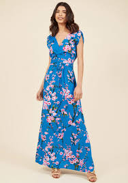 maxi dress feeling serene maxi dress in cherry blossoms modcloth