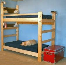 2x4 Bunk Beds How To Build Bunk Beds Bunk Bed Plans Bunk Bed For Cing Build