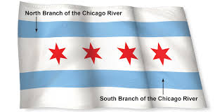 Blue And Black Striped Flag History Of The Chicago Flag Chicago Tribune