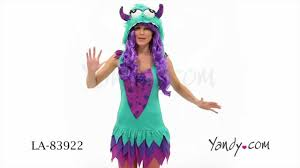 Halloween Monster Costumes by Fuzzy Frankie Monster Costume Youtube