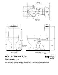 interesting ideas dimensions of standard toilet home design ideas