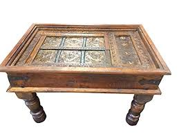 Old Wooden Coffee Tables by Solid Wood Handmade Traditional Coffee Table Antique Indian