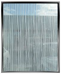 screen vertical lines pattern decorative window film toronto image