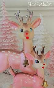 Vintage Reindeer Christmas Decorations by 537 Best Christmas Oh Deer 2 Images On Pinterest Retro