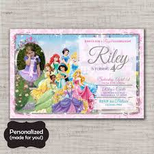 princess birthday invite disney princess birthday invite jpg