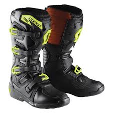 women motocross boots motocross boots scott 350 boot black green insportline