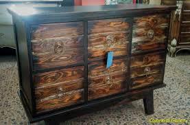 mueble colonial en barcelona pintados y decapados vintage reciclado