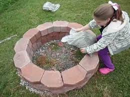 How To Build Your Own Firepit How To Easily Build A Pit