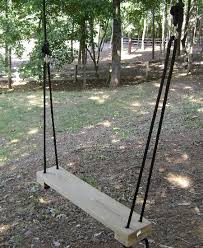 how to build a rope tree swing