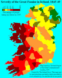 ireland and the great potato famine 1840s