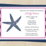 Nautical Bridal Shower Invitations Free Nautical Bridal Shower Invitation Templates Nautical Bridal