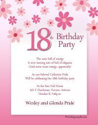birthday invitation wording birthday party invitation wording badbrya sles of birthday