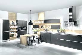 cuisine noir mat et bois cuisine acquipace bois cuisine acquipace grise 1001 id es cuisine