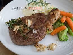 cuisine steak rib eye steak สเต กเน อร บอาย smith rabbit cuisine