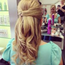 half up half down quiff hairstyles classic half up and down with hidden clips and quiff wedding 2014