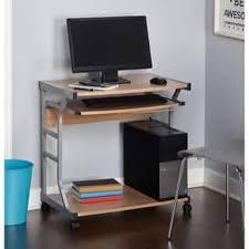 Computer Desk On Wheels Casters Wheels Desks U0026 Computer Tables Shop The Best Deals For