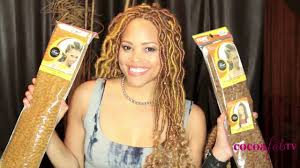 what type of hair do you use for crochet braids rita s natural hair diary how to create faux locs youtube