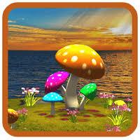 wallpaper 3d mushroom 3d mushroom sun live wallpaper for android free download on mobomarket