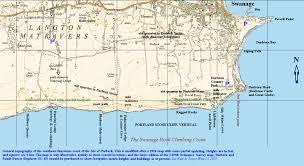 Map Of West Coast Dancing Ledge Dorset Jurassic Coast Geology