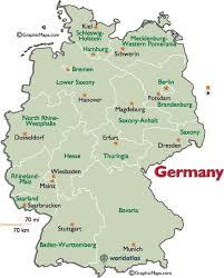 map of regions of germany regions germany map major tourist attractions maps
