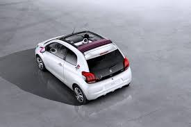 peugeot nouvelle automobile nouvelle peugeot 108 chic petite voiture