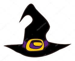 halloween witch hat u2014 stock vector milla74 3355579