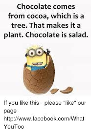 Chocolate Memes - 25 best memes about chocolate is salad chocolate is salad memes