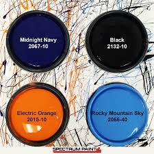 super bowl 50 paint color inspiration spectrum paint