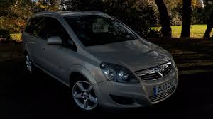 vauxhall silver used vauxhall zafira 1 8i sri 5dr for sale in poole dorset cars