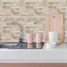 kitchen backsplash peel and stick tiles self stick tiles from lowe s removable with hair dryer easy way