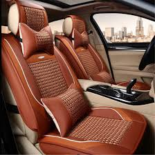 lexus is300 seat covers car seat cover pu leather bamboo charcoal cushion cover general