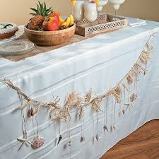 shell garland a beautiful garland for your beach wedding or
